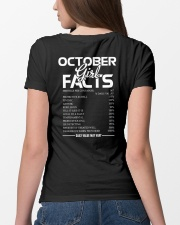 OCTOBER GIRL FACTS Ladies T-Shirt lifestyle-women-crewneck-back-4