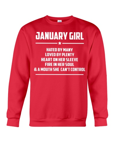 JANUARY GIRL HATED BY MANY