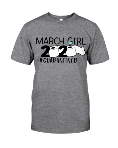 MARCH GIRL 2020 QUARANTINED