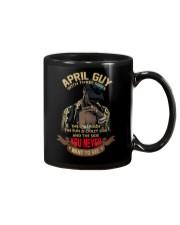 APRIL GUY WITH THREE SIDES Mug thumbnail
