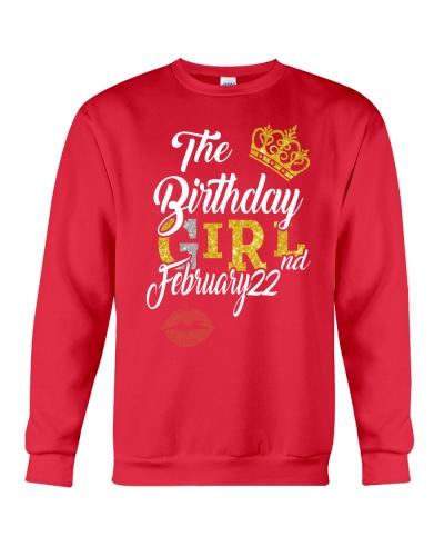 THE BIRTHDAY GIRL 22ND FEBRUARY