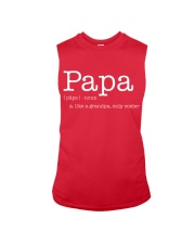 PAPA Sleeveless Tee front