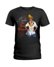 ROCKIN THE APRIL WOMAN LIFE Ladies T-Shirt front