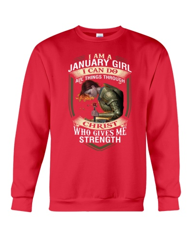 JANUARY GIRL - I CAN DO ALL THINGS THROUGH CHRIST