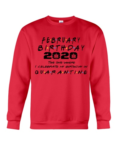 FEBRUARY BIRTHDAY 2020 CELEBRATE IN QUARANTINE