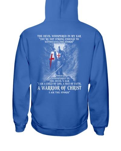 DEVIL WHISPERED - WARRIOR OF CHRIST
