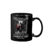 DEVIL WHISPERED - WARRIOR OF CHRIST Mug thumbnail