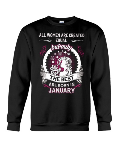 THE BEST ARE BORN IN JANUARY