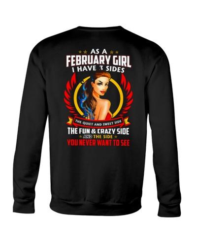 AS A FEBRUARY GIRL