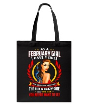 AS A FEBRUARY GIRL Tote Bag tile