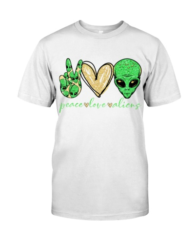 PEACE LOVE ALIENS - CAMPING