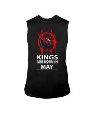 KINGS ARE BORN IN MAY Sleeveless Tee thumbnail