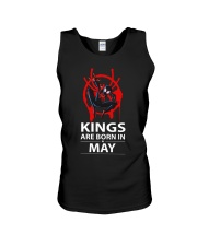 KINGS ARE BORN IN MAY Unisex Tank thumbnail