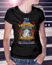 JUNE GIRL WAS BORN WITH MY HEART ON MY SLEEVE  Ladies T-Shirt lifestyle-women-crewneck-front-7