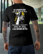 AS A MARCH GUY Classic T-Shirt lifestyle-mens-crewneck-back-3