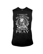 JUST PRAY - WARRIOR OF CHRIST Sleeveless Tee thumbnail
