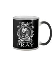JUST PRAY - WARRIOR OF CHRIST Color Changing Mug thumbnail