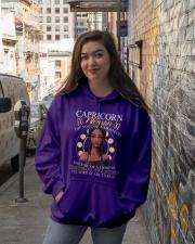 CAPRICORN WOMAN - THE SOUL OF A MERMAID Hooded Sweatshirt lifestyle-unisex-hoodie-front-1