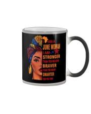 I AM A JUNE WOMAN Color Changing Mug thumbnail