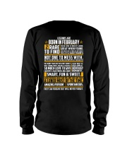 LEGENDS ARE BORN IN FEBRUARY Long Sleeve Tee thumbnail