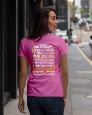 LEGENDS ARE BORN IN FEBRUARY Ladies T-Shirt lifestyle-women-crewneck-back-1