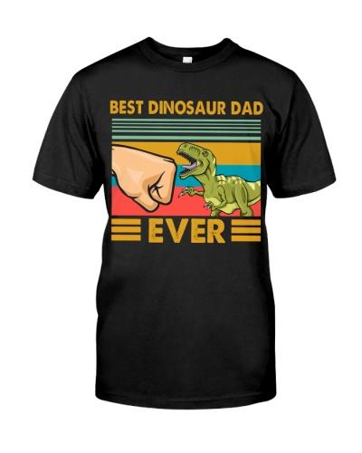 BEST DINOSAUR DAD EVER