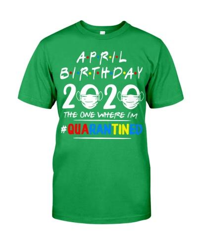 APRIL BIRTHDAY 2020 THE ONE WHERE IM QUARANTINED