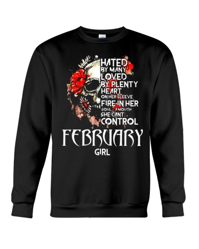 FEBRUARY GIRL A MOUTH SHE CANT CONTROL