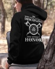 VIKINGS VALHALLA - HONOR Hooded Sweatshirt apparel-hooded-sweatshirt-lifestyle-06