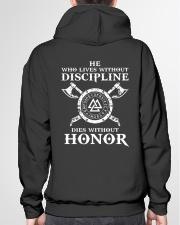 VIKINGS VALHALLA - HONOR Hooded Sweatshirt garment-hooded-sweatshirt-back-04