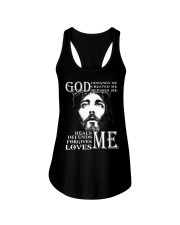 GOD - WARRIOR OF CHRIST Ladies Flowy Tank thumbnail