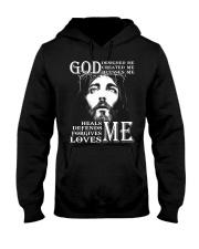 GOD - WARRIOR OF CHRIST Hooded Sweatshirt thumbnail