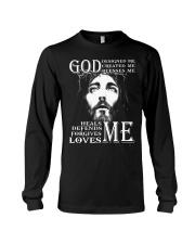 GOD - WARRIOR OF CHRIST Long Sleeve Tee thumbnail