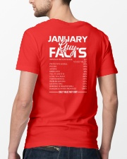 JANUARY GUY FACTS Classic T-Shirt lifestyle-mens-crewneck-back-5