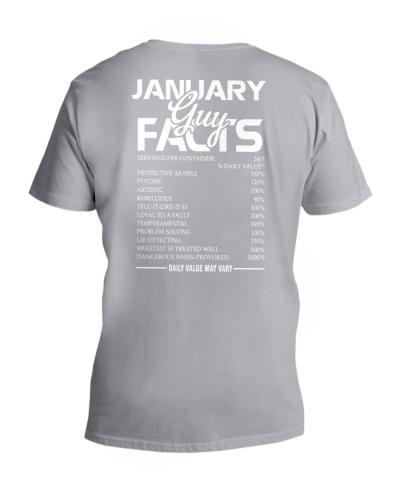 JANUARY GUY FACTS