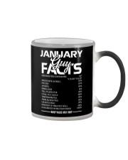 JANUARY GUY FACTS Color Changing Mug thumbnail