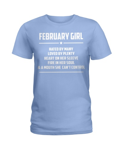 FEBRUARY GIRL - LIMITED EDITION