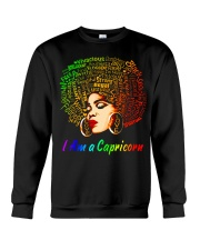 YES I AM A CAPRICORN Crewneck Sweatshirt thumbnail