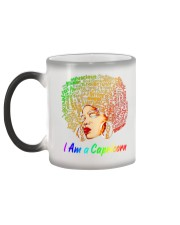 YES I AM A CAPRICORN Color Changing Mug color-changing-left