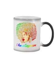 YES I AM A CAPRICORN Color Changing Mug color-changing-right