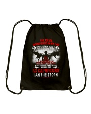 DEVIL WHISPERED - CAPRICORN Drawstring Bag thumbnail