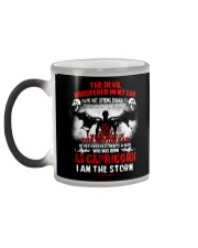 DEVIL WHISPERED - CAPRICORN Color Changing Mug color-changing-left