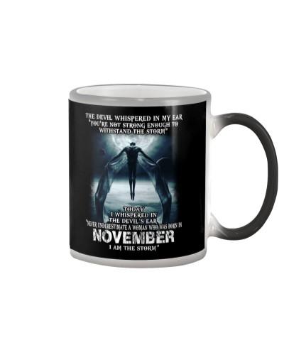 DEVIL WHISPERED - NOVEMBER