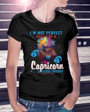I'M A CAPRICORN SO CLOSE ENOUGH Ladies T-Shirt lifestyle-women-crewneck-front-7