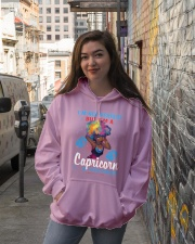 I'M A CAPRICORN SO CLOSE ENOUGH Hooded Sweatshirt lifestyle-unisex-hoodie-front-1