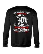 AS AN OCTOBER GUY - I HAVE 3 SIDES Crewneck Sweatshirt thumbnail