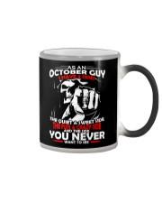 AS AN OCTOBER GUY - I HAVE 3 SIDES Color Changing Mug thumbnail