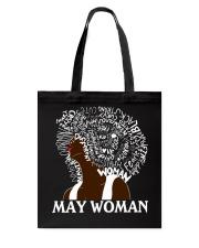 MAY BLACK WOMAN Tote Bag thumbnail
