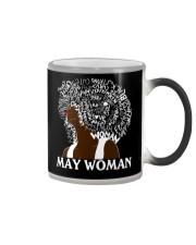 MAY BLACK WOMAN Color Changing Mug thumbnail