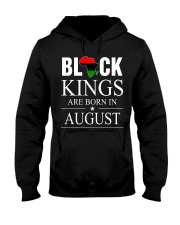 BLACK KINGS ARE BORN IN AUGUST Hooded Sweatshirt thumbnail